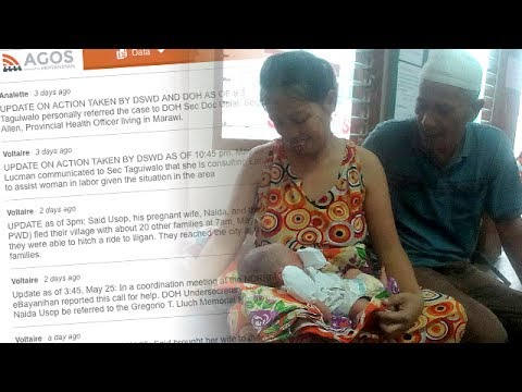 Social media helps evacuee from Marawi safely give birth