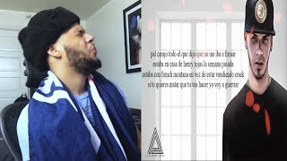 Intocable - Anuel AA [Video Letra Oficial] - Intocable Anuel AA Reacicion y ANALISIS!