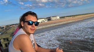 День рибалки в США. Рибалка у Флориді.Серфінг і пляж. Америка