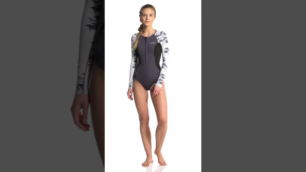cd92e4e251 Xcel Women's Ocean Ramsey Axis 1.5MM Long Sleeve Front Zip Spring Suit |  SwimOutlet.com