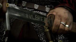 Zobacz co skrywały tajemnicze znaki na wikińskich klingach! [Wikingowie i potężne miecze]