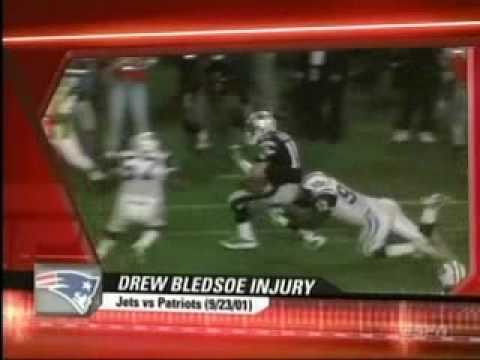 Mo Lewis Buries Drew Bledsoe!