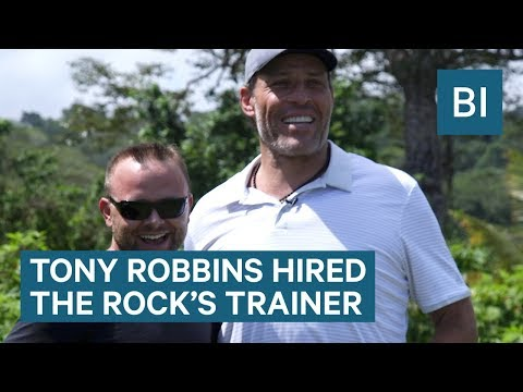 Tony Robbins Hired The Rock's Personal Trainer