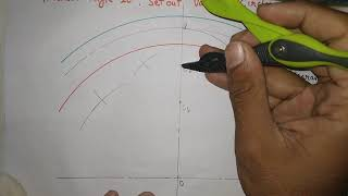 How To Draw An Involute Gear Tooth Profile| Machine Drawing | Edusquad