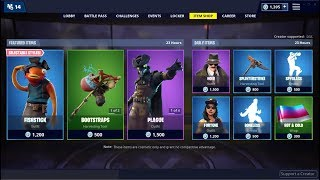 Plague & Fortune Skins (Back)! Fortnite Item Shop March 1, 2019