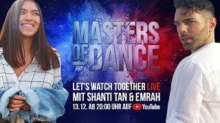 LIVE 🔴   Let's Watch Together mit Shanti Tan und Emrah   Masters of Dance auf ProSieben   Episode 1