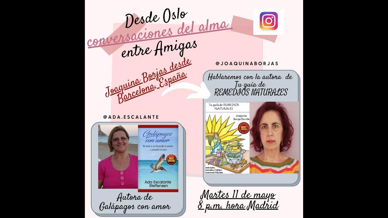 Conversaciones del alma, invitada Joaquina Borjas