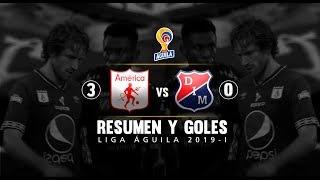 América vs Medellín: resumen y goles del partido 3-0 Liga Águila 2019-I