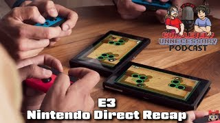 Nintendo Direct E3 Recap: Super Mario Party, Fortnite, Daemon X Machina, more! - #CUPodcast