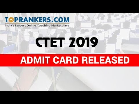 ctet-admit-card-released-|-ctet-2019