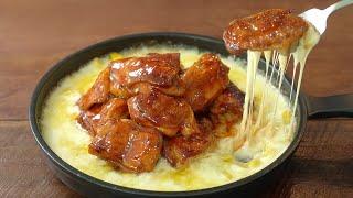 외식이 필요없는, 바베큐 콘치즈 치킨 만들기 :: 오븐…