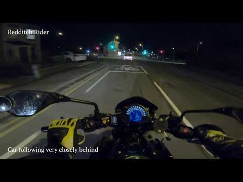 Redditch Rider  [4K] - Road rage with 66666 taxi driver LC60 RZD