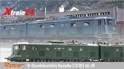 Produktvorstellung Roco Ae 8/14 SBB Doppellok