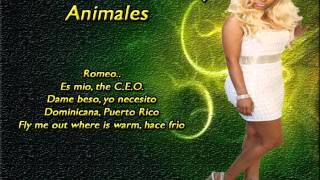 Animales - Romeo Santos Ft Nicki Minaj (Formula Vol.2) 2014 LETRA