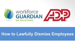 Webinar 7 - How to Lawfully Dismiss Employees