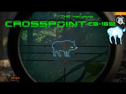 Hunting Wild Boar with The CROSSPOINT CB-165!! THEHUNTER 2018