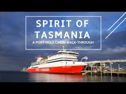 Spirit Of Tasmania Port-hole Cabin Walk-through
