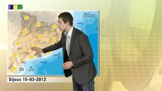 Predicció 15-03-2012 Meteocat: Boires i boirines al litoral.