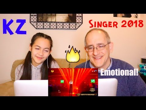 KZ Tandingan Sings Chinese Medley Songs | Singer 2018 | REACTION