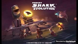 hungry shark evolution #6= o tubarao ta mais grande e nivel 7 adquirido.