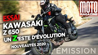 Kawasaki Z650 (A2) - un Zeste de changement (Moto Magazine)