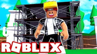 BUILDING THE RICKY RIDES HQ!! - ROBLOX