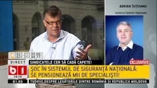 Adrian Țuțuianu, lămuriri privind pensiile din sistemul militar