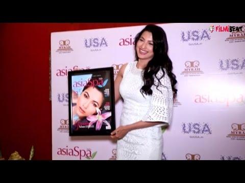 Gauhar Khan reveals cover of AsiaSpa magazine | UNCUT Video | Filmibeat