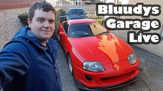LIVE: Working on the Supra and Focus ST