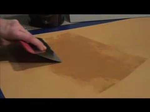 Venetian Plaster how-to