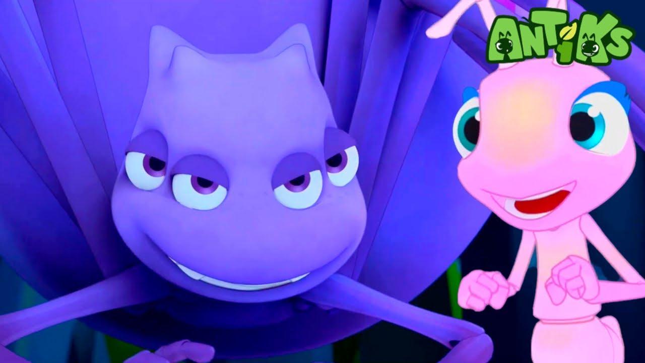 Oddbods Present: Antiks | Glow Away! | Funny Cartoons For Kids