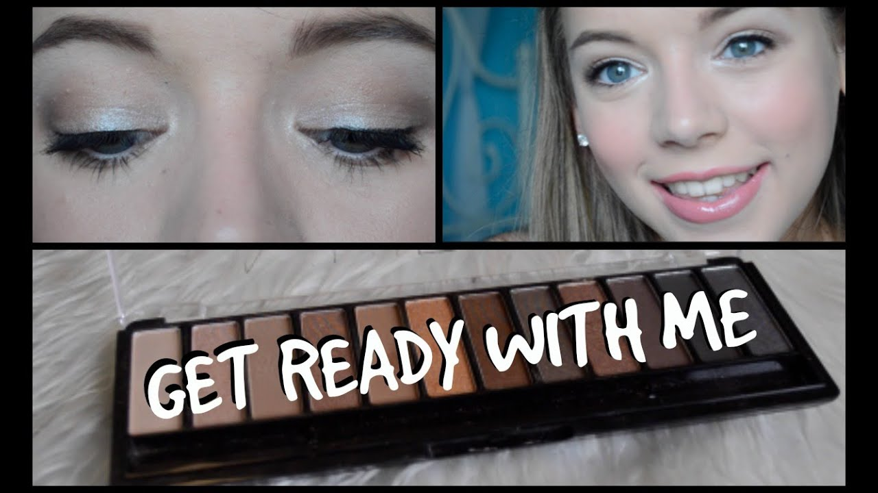 GRWM :Maquillage facile avec W7 Naked Nudes Eyeshadow