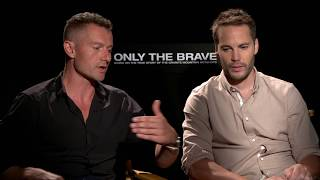 James Badge Dale & Taylor Kitsch On Training For ONLY THE BRAVE