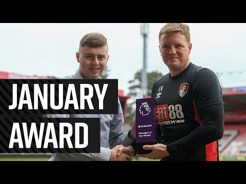 🏆 January Premier League Manager of the Month | Eddie Howe 👏