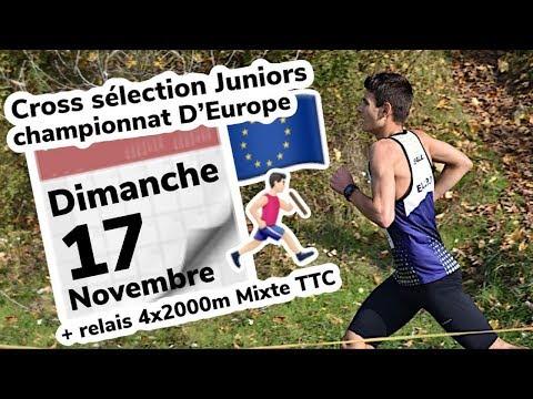 Cross De Sélection Juniors - Qualificatif Pour Les Championnats D'Europe De Cross- Créteil 2019