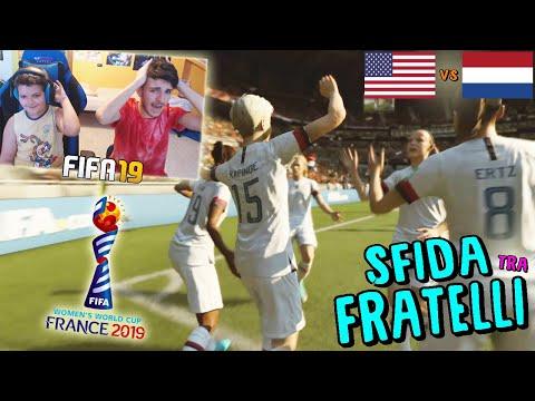 USA vs OLANDA - FINALE MONDIALI FEMMINILI! - Fifa 19