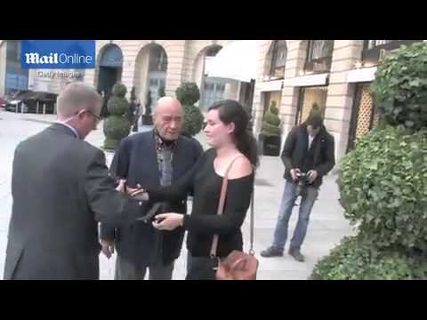 Mohammed Al Fayed spotted at Ritz hotel in France