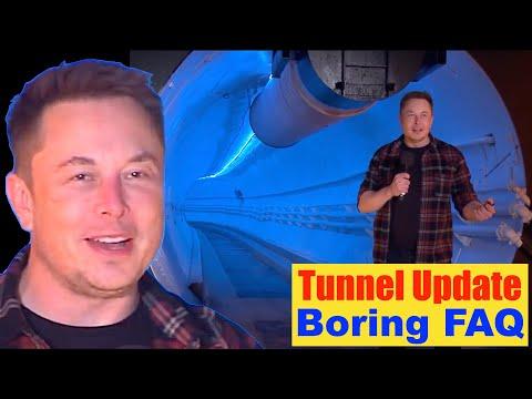 Super Tunnels: Boring Company FAQ Updated