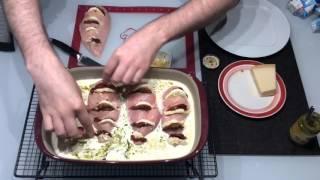 Pesto Hühnchen in Sahnesoße [Blitzrezept] aus der Ofenhexe von Pampered Chef®