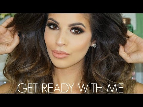 GLAM Get Ready With Me, Hair Makeup Outfit | CLUBBING