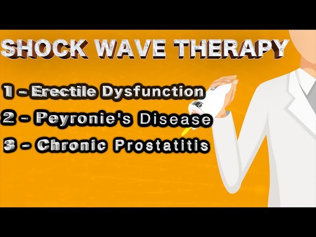 shock wave therapy for Erectile Dysfunction procedures