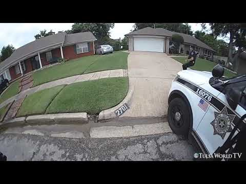 Tulsa Police Release Video Of Fatal Officer-involved Shooting