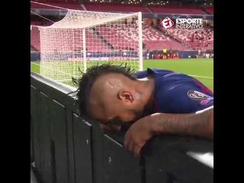 Bayern Munich Vs Barcelona 8-2 ⚽ Arturo Vidal Dramatic Reaction ⚽ 2020