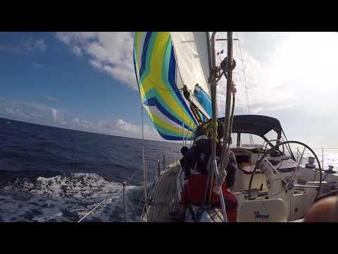 Hold Fast Sailing end of day 2 Brest - A Coruna