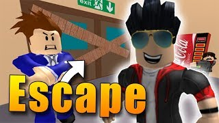 WE NEED to GET AWAY FROM SCHOOL! | ROBLOX: Escape School An Obby