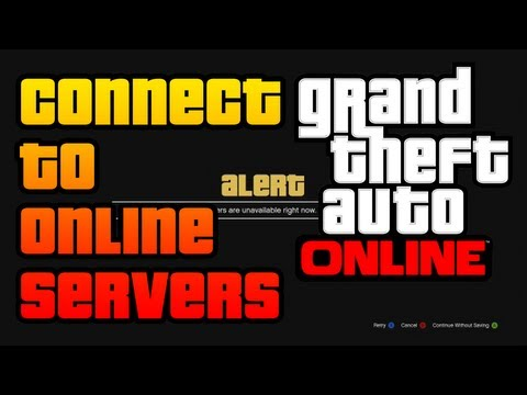GTA V - How To CONNECT to Rockstar Servers and Play GTA Online (TROUBLESHOOTING STEPS & METHODS)