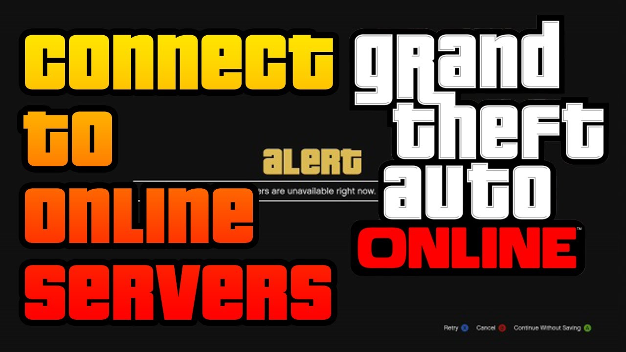 Gta V How To Connect To Rockstar Servers And Play Gta Online Troubleshooting Steps Methods Youtube