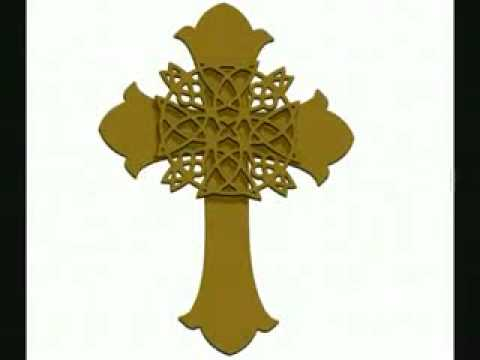 Gold Wall Cross Celtic Knot Metal Wall Art Youtube