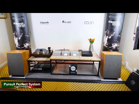 NEW Klipsch Heresy IV Project Lehmann Audio Roon Nucleus Henley Audio Chord @ Bristol HiFi Show 2020