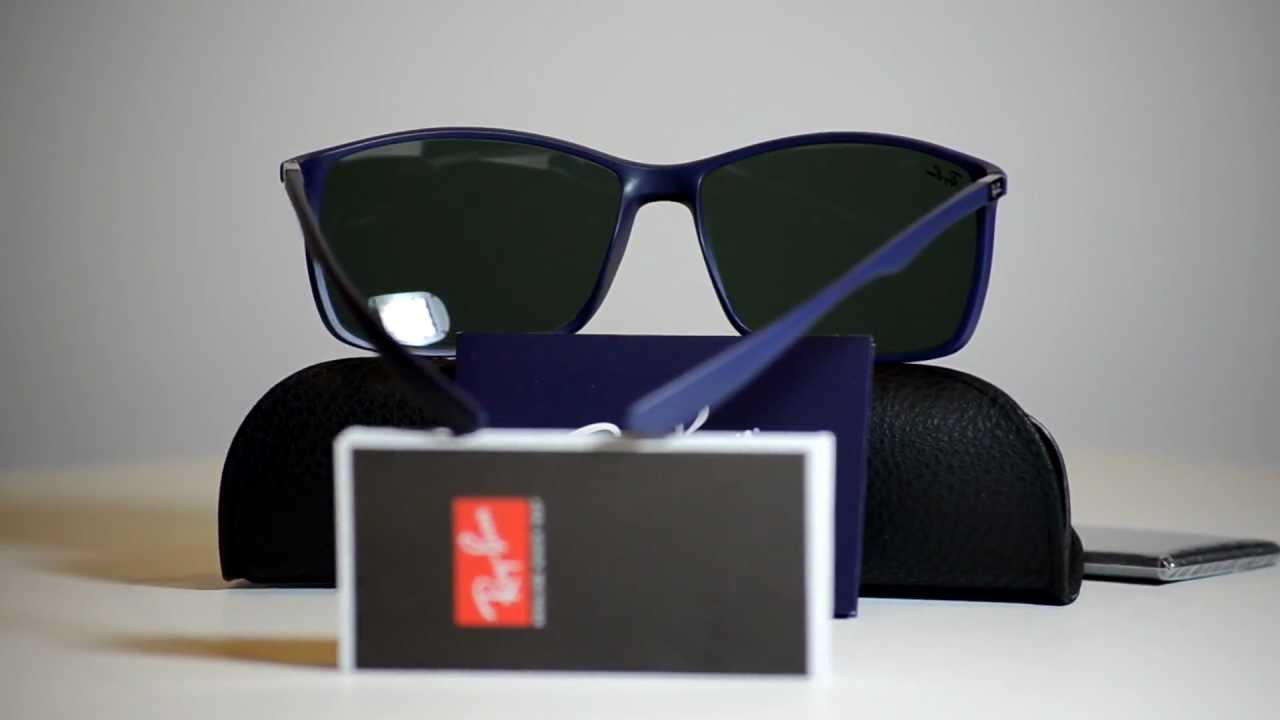 a4f6bf2803 Authentic Ray Ban Liteforce Sunglasses RB 4179 883 71 RB4179 Made In Italy  - YouTube
